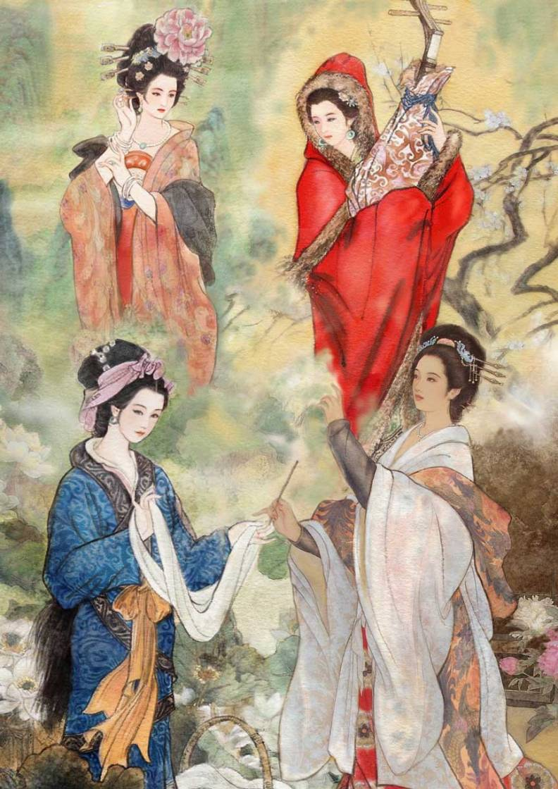 China Under The Hood - The Four Beauties of Ancient China