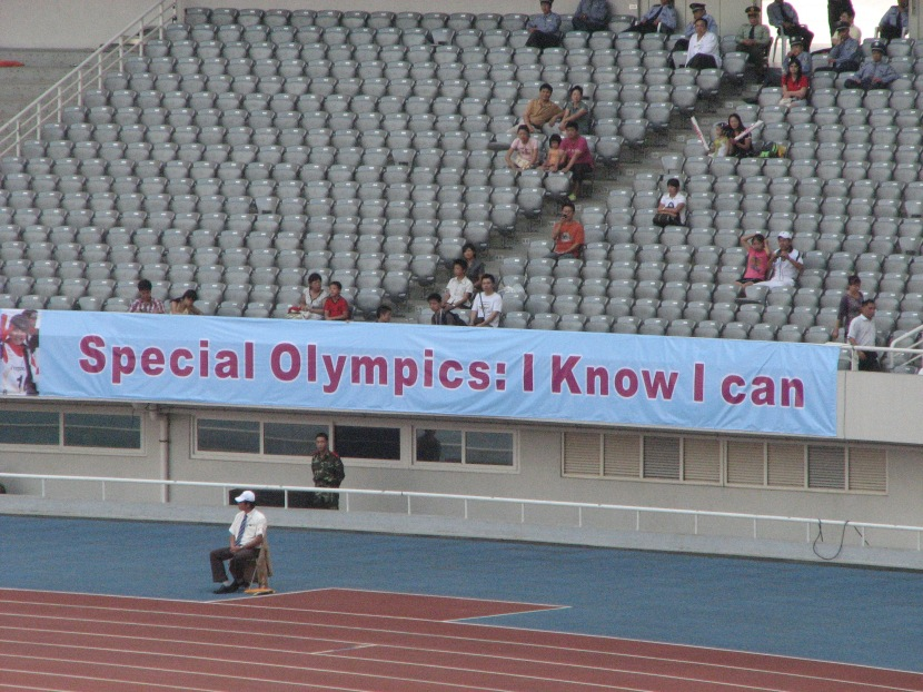 Words matter: Mentally retarded or human gift? Looking back at the 12th Special Olympics World Summer Games in Shanghai