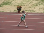 """2007 Special Olympics World Summer Games: """"I know I can."""" Team Ireland competing in Women's 1,500 metres walk"""