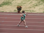 "2007 Special Olympics World Summer Games: ""I know I can."" Team Ireland competing in Women's 1,500 metres walk"