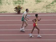 """2007 Special Olympics World Summer Games - """"I know I can"""" - Finish line in sight for Team Ireland athlete"""
