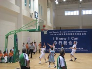 2007 Special Olympics World Summer Games: Team Ireland Men's Basketball Team score against India