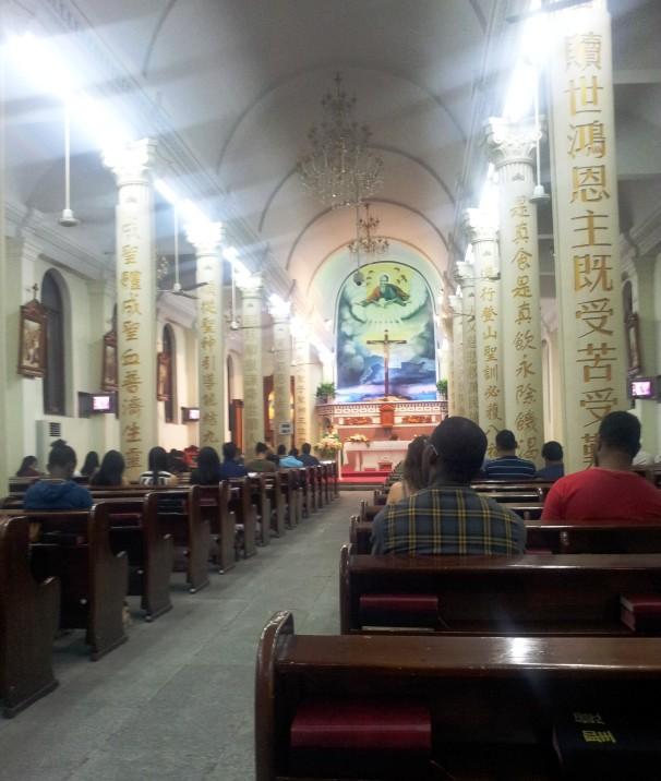 China - Under The Hood Hangzhou Catholic Church 2014 002