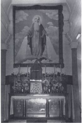 Hangzhou Catholic Church altar 1990