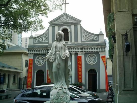 "China – Under The Hood: Hangzhou Catholic Church ""The most beautiful church in China"""