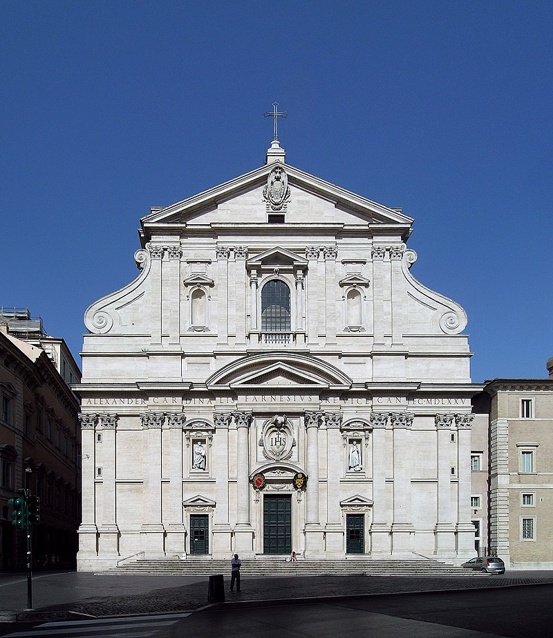 Was the Chiesa del Gesù Rome the original prototype for designing Hangzhou's Catholic Church of Our Lady Of The Immaculate Conception?