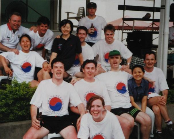 Asia Gaelic Games, Manila 1997 Korea Gaelic Football Team Kimchi Kickers