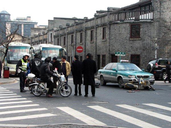 China's Roadkill Fatal Traffic Accidents