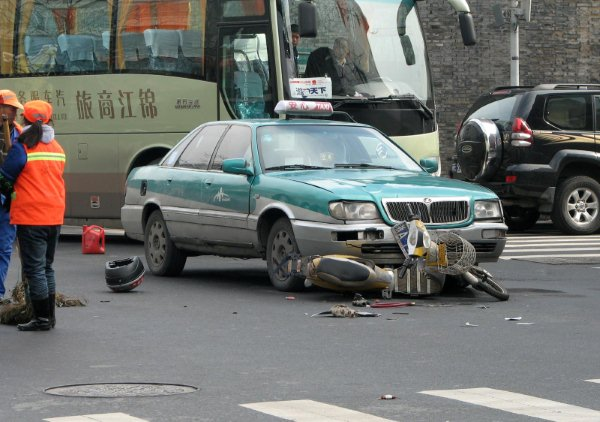 China's Roadkill Fatal Traffic Accidents