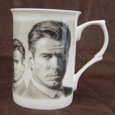 What a mug I  sound like Pierce Brosnan