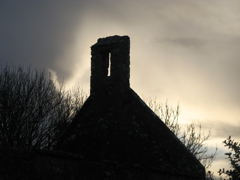 """""""Lovely Annaghdown"""" Annaghdown Catherdral located on the shores of Lough Corrib, was once the site of a 12th century diocese"""