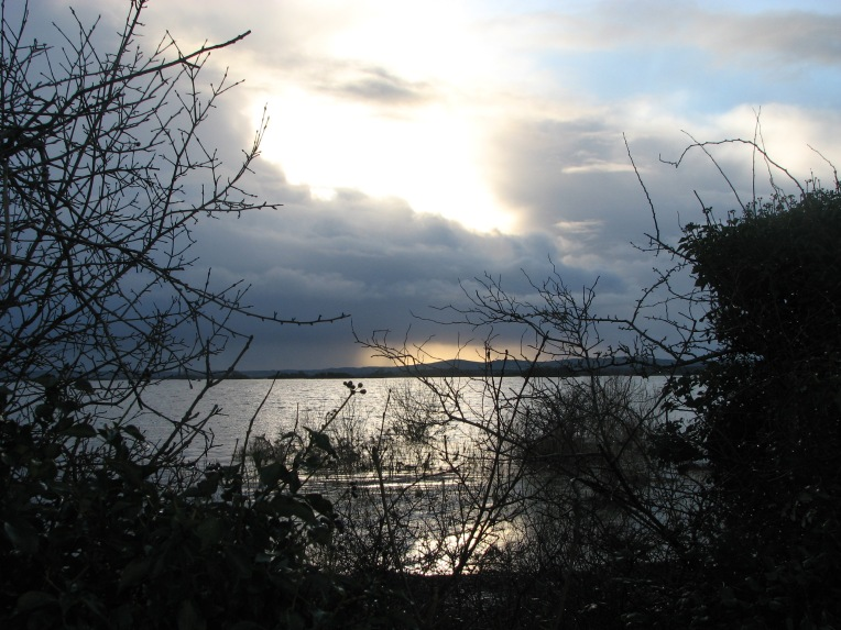 """Dusk over Annaghdown Bay"" Annaghadowne, County Galway, Ireland"