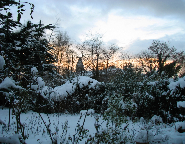 """Beauty in Snow"" - Moorefield, County Dublin, Ireland"
