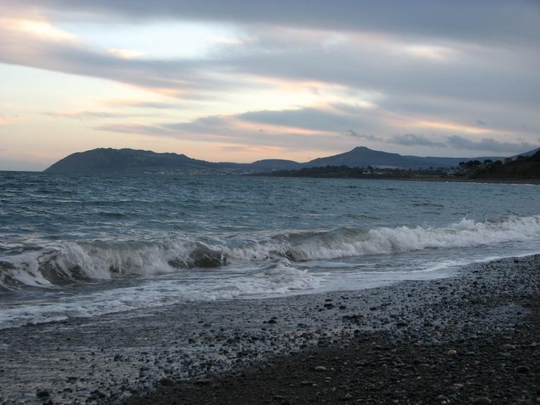 """""""The edge of twilight"""" - Killiney Bay looking towards Bray Head, County Wicklow, Ireland"""