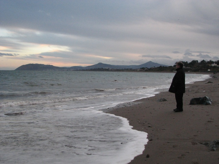 """A penny for your thoughts"" - Killiney Beach, County Dublin, Ireland"