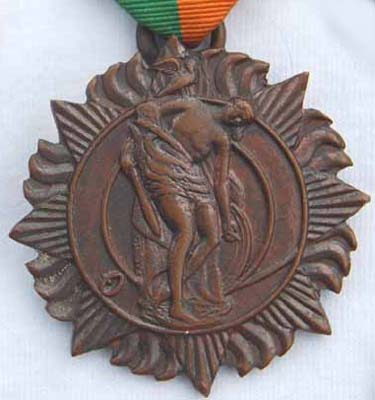 A True Irish Patriot Dr. Michael William O'Reilly -December 1889 - November 1971 - My father's father - Easter Rising 1916 Medal Front