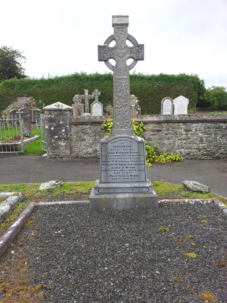 Lost but not forgotten - - Byrne family plot at New Abbey Cemetery, Kilcullen, Co. Kildare, Ireland