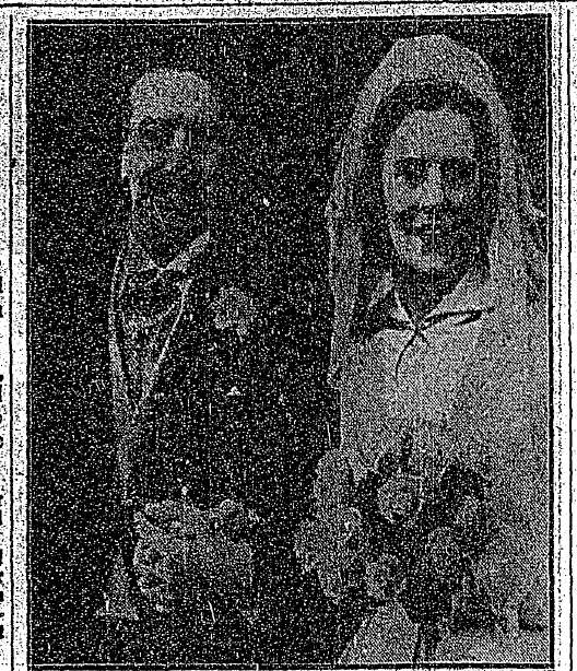 Irish Times 15th January 1953 - The wedding of  Liam O'Reilly and Kath Byrne