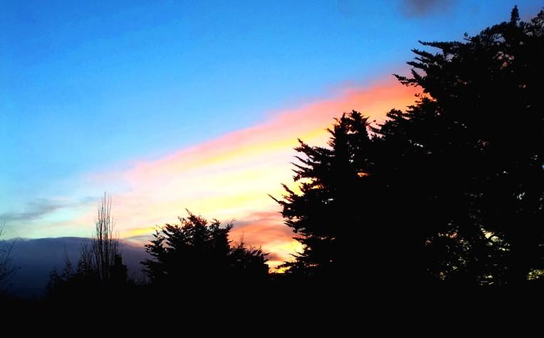 Ireland's last sunset of 2013 - Dun Laoghaire