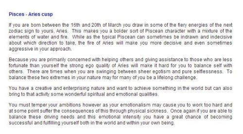 Drawings Pisces Aries Cusp Related Keywords & Suggestions