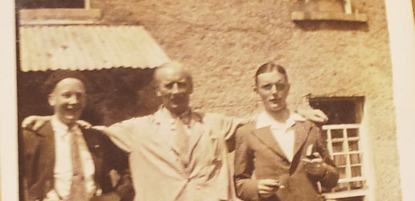 "A 68 year-old photograph reveals an Irish prisoner of the Japanese – ""Uncle Barney"" Byrne"