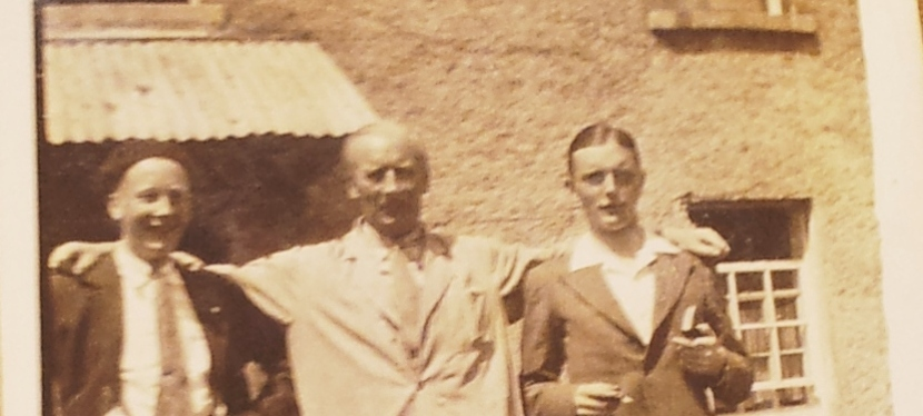 """A 68 year-old photograph reveals an Irish prisoner of the Japanese – """"Uncle Barney""""Byrne"""