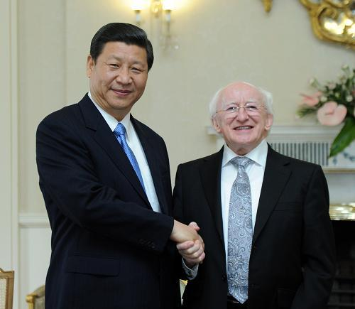 President of Ireland Michael D Higgins to meet President of China Xi Jinping in December 2014