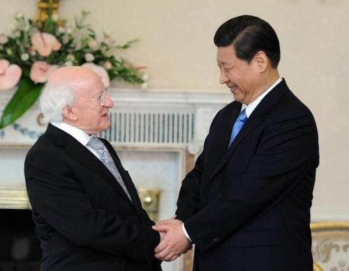 State Visit to China President of Ireland Michael D Higgins to meet President of China Xi Jinping
