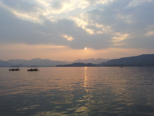 West Lake Sunset, Hangzhou