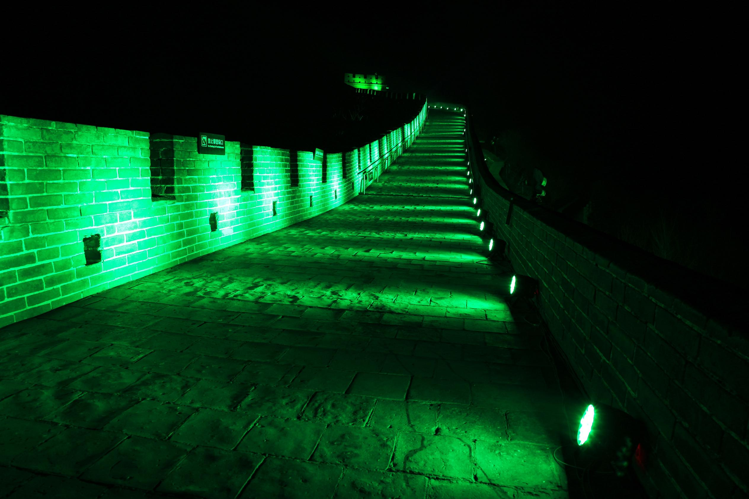 GREAT WALL OF CHINA BECOMES THE 'GREEN WALL OF CHINA' AS IT