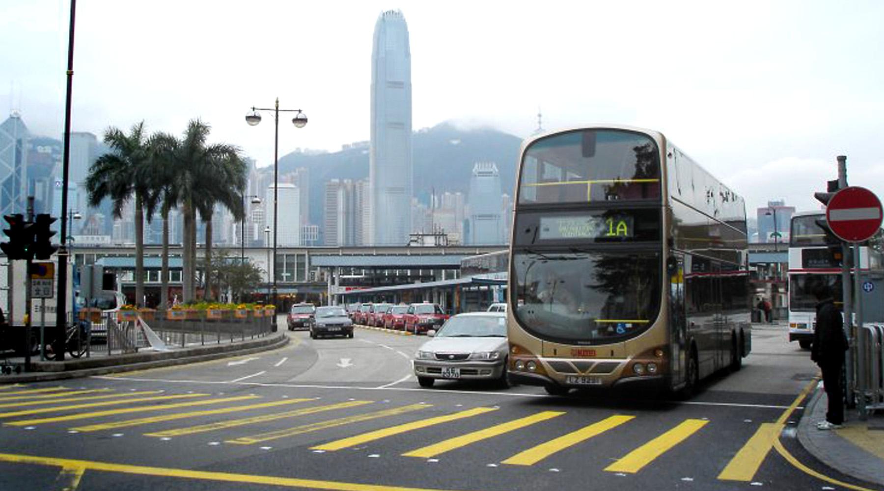 WrightBus hits the streets of Hong Kong