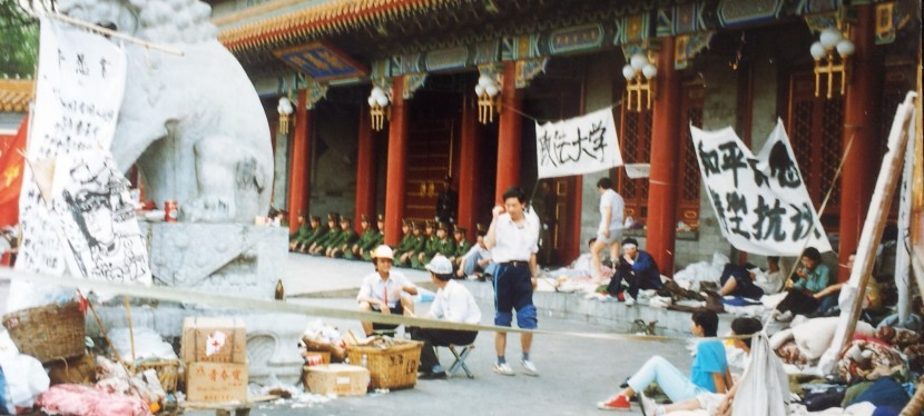 Tiananmen Square – China's Woodstock? An 89errecalls